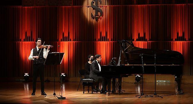 Keman eşliğinde Mozart'tan Chopin'e yolculuk – Müzik