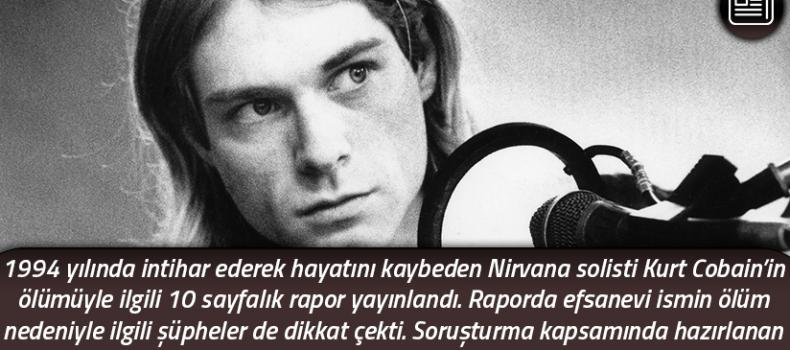 FBI'dan gizem dolu bir dosya: Kurt Cobain ölümü ve ardında yatanlar